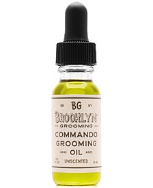 Brooklyn Grooming Commando Grooming Oil, 0.5-oz.