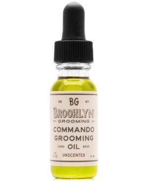 Brooklyn Grooming Commando Grooming Oil, 0.5-oz.