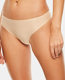 Women's Soft Stretch One Size Seamless Thong Underwear 2649, Online Only
