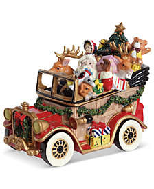 Fitz and Floyd Musical Santa Mobile Collectible Figurine