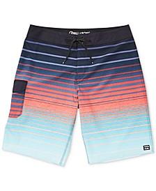 "Men's All Day Striped Pro 21"" Board Shorts"
