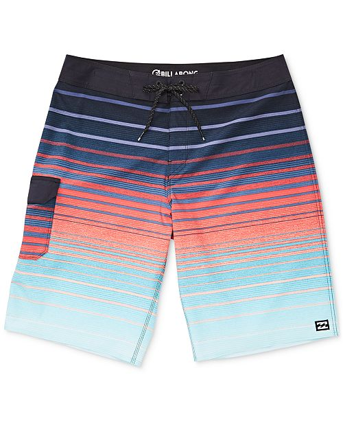 "Billabong Men's All Day Striped Pro 21"" Board Shorts"