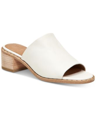 Frye Cindy Mules Women's Shoes In White