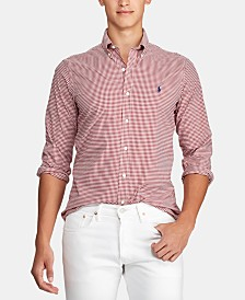 Polo Ralph Lauren Men's Gingham Sport Shirt