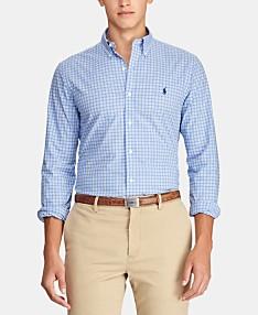 80758537 Polo Ralph Lauren Mens Casual Button Down Shirts & Sports Shirts ...
