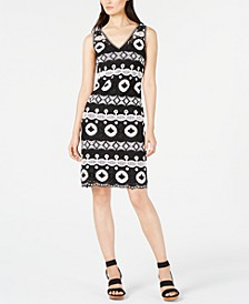 INC Crocheted Sweater Dress, Created for Macy's