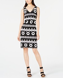 I.N.C. Crocheted Sweater Dress, Created for Macy's
