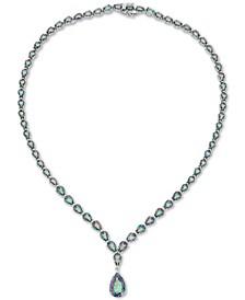 Mystic Topaz Fancy Statement Necklace (42 ct. t.w.) in Sterling Silver