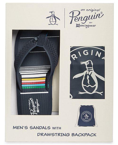 homme Homme marine et pour Sandales sac Avis tongs Bleu main PenguinCree pour Tongs Ensemble a AcS3L54Rqj