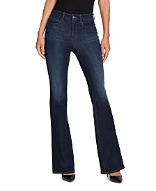 Skinny Girl Highrise Flare Jeans