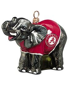 Alabama Collegiate Elephant Ornament
