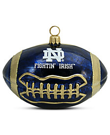 Joy to the World Notre Dame Football Sports Ornament