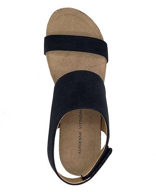 eee787b927 Adrienne Vittadini Trevin Mid-Wedge Sandal & Reviews - Sandals ...