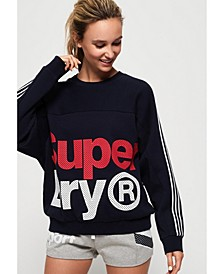 Athletico Crop Crew Sweatshirt
