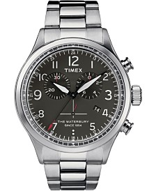 Timex Waterbury Traditional Chronograph 42mm Stainless Steel Watch