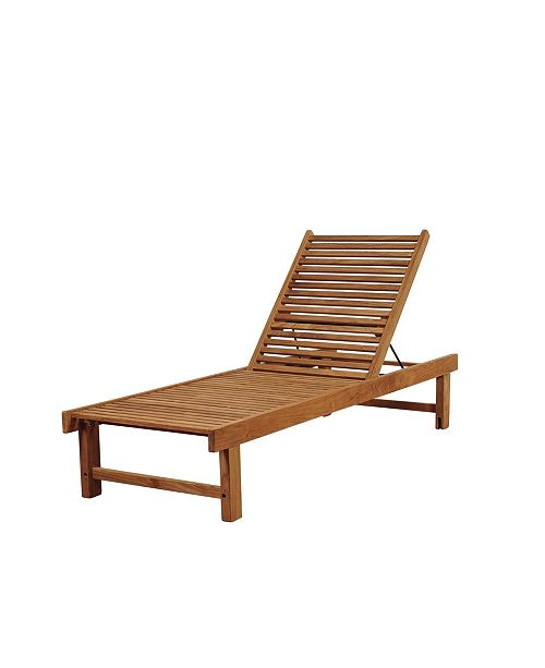 Amazonia Patio Chaise Lounger