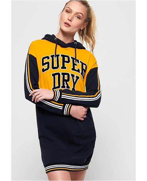 Superdry College Hooded Sweat Dress