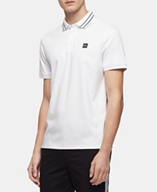 Calvin Klein Men's Tipped Logo Polo