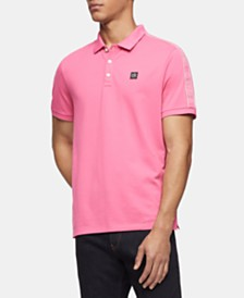 Calvin Klein Men's Pima Cotton Logo Polo