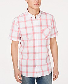 Men's Nep Plaid Shirt