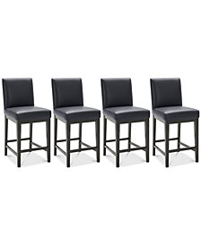 Reed Stool, 4-Pc. Set (4 Counter Stools)