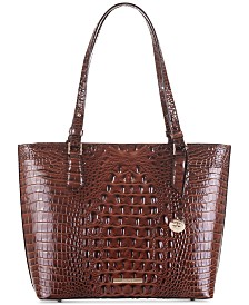 Brahmin Medium Misha Melbourne Embossed
