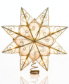 Kurt Adler Capiz Star Tree Topper