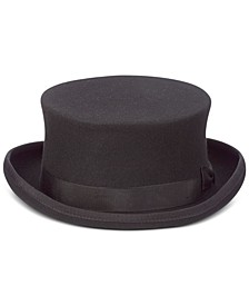 Men's Steam Punk Wool Top Hat