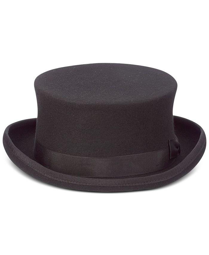 Scala - Men's Steam Punk Wool Top Hat