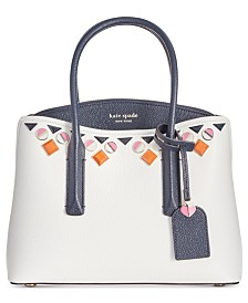 kate spade new york Margaux Embellished Leather Medium Satchel