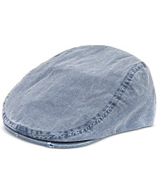 Levi's® Men's Distressed Pigment-Dyed Canvas Flat-Top Ivy Hat