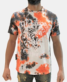 Heritage America Men's Tie Dye Logo T-Shirt