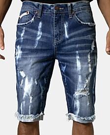 Men's Indigo Denim Shorts