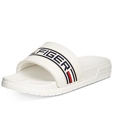 Little & Big Boys Geo Logo Slide Sandals
