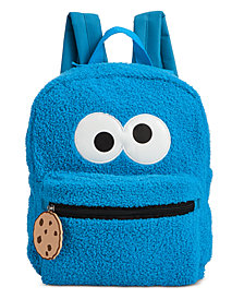 Accessory Innovations Toddler & Little Boys & Girls Cookie Monster Backpack