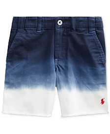 Polo Ralph Lauren Toddler Boys Ombré Cotton Chino Shorts
