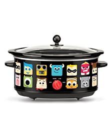 Pixar 7-Quart Oval Slow Cooker