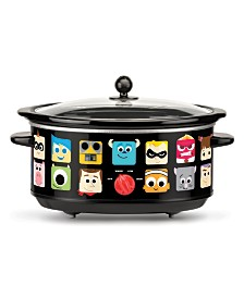 Pixar 7-Quart Oval Slow Cooker