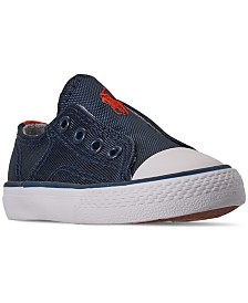 Polo Ralph Lauren Toddler Boys' Rowenn Slip-On Casual Sneakers from Finish Line