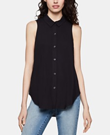 BCBGeneration High-Low Drawstring Shirt