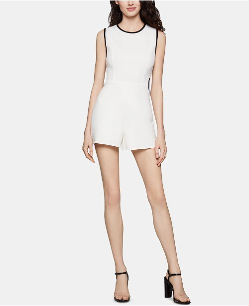BCBGeneration Side-Cutout Romper