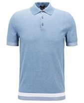 19be1488 BOSS Men's Short-Sleeve Cotton Polo Sweater