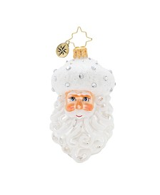 Christopher Radko Winter Frost Santa Gem