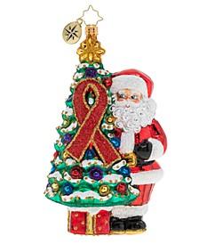 AIDS Awareness Christmas Tree