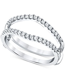 Diamond Enhancer Ring Guard (1/3 ct. t.w.) in 14k White Gold