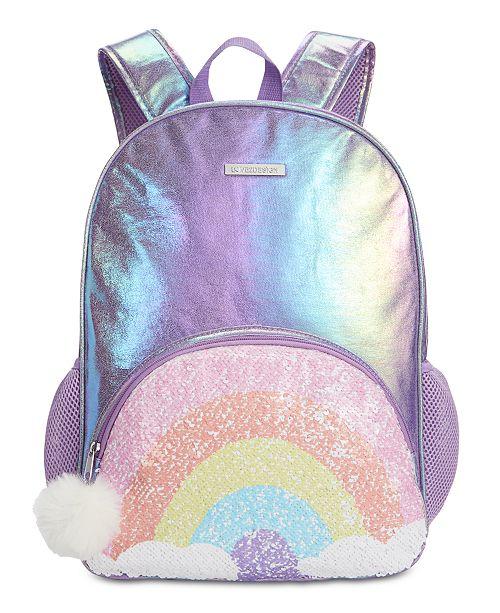 FAB Little & Big Girls Reversible Sequin Backpack