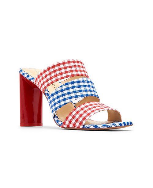 Katy Perry Cali Scrunchie Dress Sandals