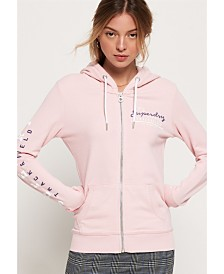 Superdry Track and Field Lite Zip Hoodie