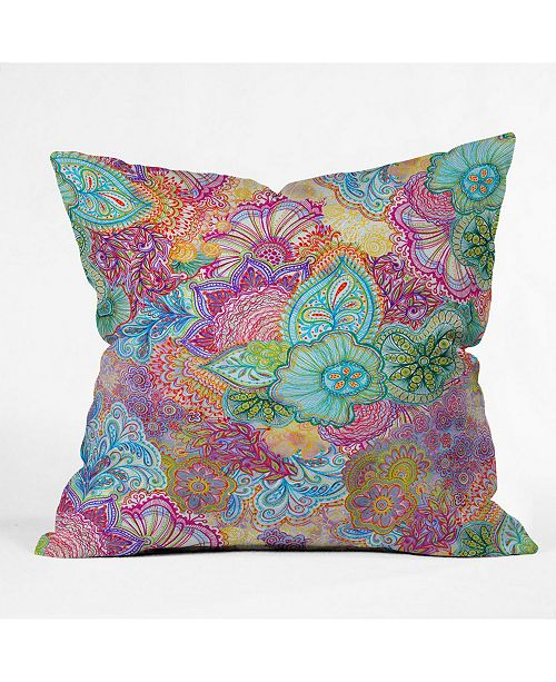 Deny Designs Stephanie Corfee Flourish Allover Throw Pillow