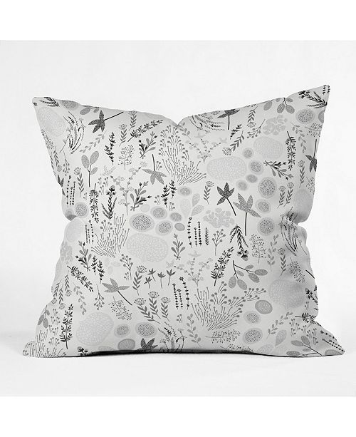 Deny Designs Iveta Abolina Floral Goodness Iii Throw Pillow